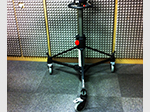 Used Vinten vision pedestal dolly for sale in London.